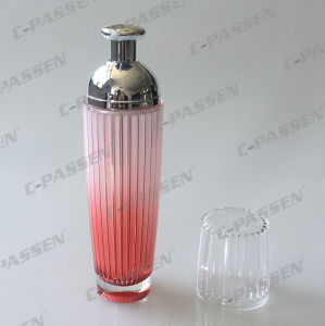 New Arrival Crystal Pink Acrylic Lotion Bottle for Cosmetic Packaging (PPC-ALB-044) pictures & photos