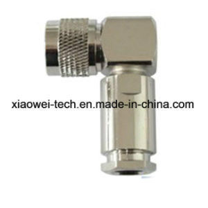 N Male Right Angle Connector for 8d Cable