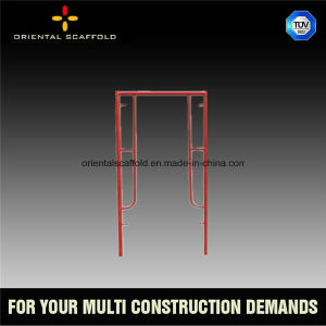 Light Duty Walk Thru Scaffolding Frame for Construction pictures & photos