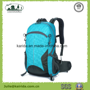 Five Colors Polyester Hiking Backpack D403 pictures & photos