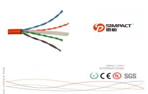 UL/CE/RoHS/ISO Certified UTP CAT6 LAN Cable-Simpact pictures & photos