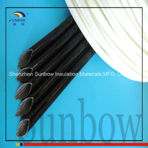 Sunbow Silicone Rubber Varnish Glass Fiber Sleeving for Carbon Brush pictures & photos