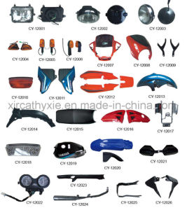 Motorcycle Plastic Parts, Lamp, Body Parts Full Set with High Quality