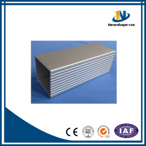 6063-T5 White Powder Coating Aluminum Profile for Solar Energy System