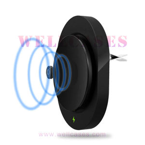 Qi Built-in 10400mAh Car Mount Holder Wireless Charger for Tablet/Cellphone