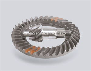 China Forged Steel Spiral Bevel Wheel