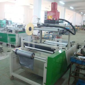 Hot Melt Glue Spraying Rewinder for Mail Bag (DHL express bag) pictures & photos