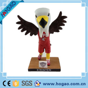 OEM Resin Mascot Bobble Head for Promotion (HG048) pictures & photos
