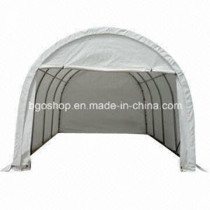 PVC Blockout Tarpaulin (500dx500d 9X9, 420g) Grey or Black Back. pictures & photos