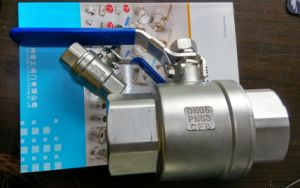 2 Piece Ball Valve with Lock Handle pictures & photos