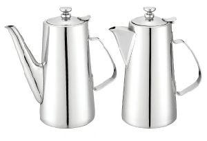 Long/ Short Spout Stainless Steel Water Pitchers (130150L/130200L/130150S/130200S) pictures & photos