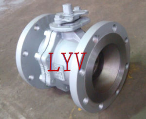 Lever Handle Wafer Type Ball Valve