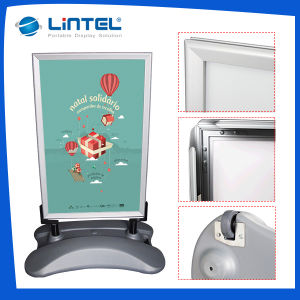 Double Sided Poster Board Aluminum Outdoor Advertising Sign (LT-10G2) pictures & photos