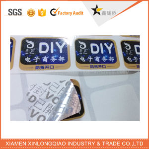 Anti-Fake Label Printing Paper Security Custom Anti-Counterfeiting Hologram Sticker pictures & photos