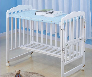 New Style Swing Baby Bed Baby Crib Can Be Changed Study Table (M-X1124) pictures & photos
