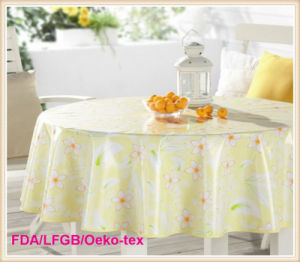 PVC Table Cloth Party/Home/Wedding/ Picnic Decoration pictures & photos