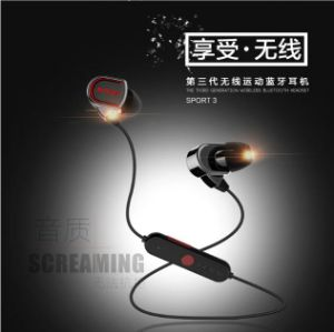 7ab945b37a3 China Genai Sport 3 New Wireless Bluetooth Headsets Headphones Earphones  with Mic and Retail Box for iPhone Samsung HTC All Bluetooth Phones - China  ...