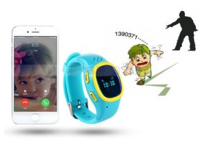 Sos GPS Child Kids Cell Phone Watch Intelligent Tracking Device Smart Watch for Children Baby Clock Gift pictures & photos