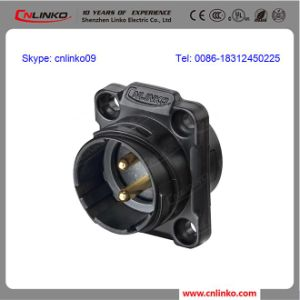Circular Plastic Waterproof Connector/IP67 Panel Mount Connector pictures & photos
