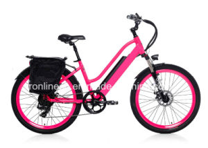 "250W or 500W Powered Electric Bike/Electric Bicycle/E Bike/Pedelec with 26"" X 2.3 or 24X 4tire, Hidden Battery, Ce, En15194 pictures & photos"