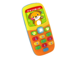 Plastic Intellectual Toys Cartoon Mobile Phone for Baby (H0895092) pictures & photos