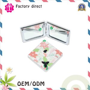 Compact Foldable and Suitable Cosmetic Mirror Pocket Make up Mirror pictures & photos