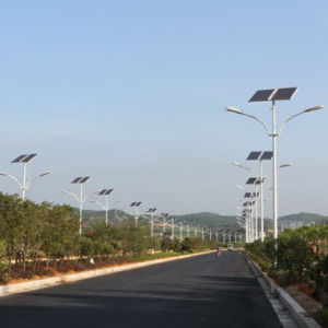 18W Solar Street Light with Solar Panel, Controller and Battery pictures & photos