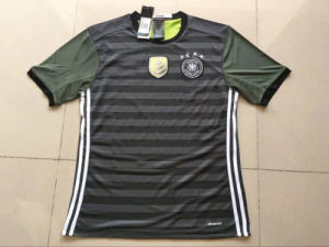 European Cup 2016 Germany Away Double Soccer Jersey pictures & photos