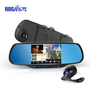 China Roga Lx51 Car Rearview Mirror With Gps And Dvr China Roga