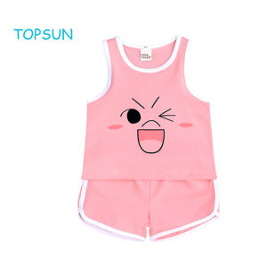 Clothing Sets Energetic 2019 Newest Style Spring Summer Clothing Kids Baby Girl Sleeveless T Shirt+short Trousers Clothes Outfit Set 0-3years Girls' Clothing
