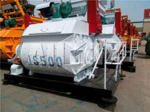 Js500 Concrete Mixer with Weigh Batching System (JS500) pictures & photos