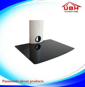 High Grade White Aluminum Tube DVD Shelf