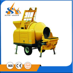 Electric Concrete Pump with Mixer pictures & photos