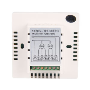 LC Intelligent Programmable Digital Room Thermostat for Central Air-Condition 8c pictures & photos