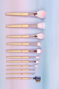 New 11PCS Synthetic Hair Make up Cosmetic Brush