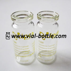 Yellow Customized Printing on The 10ml Injection Vial pictures & photos