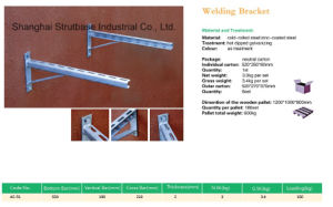 Welding Wall Bracket / Air Conditioner Bracket pictures & photos