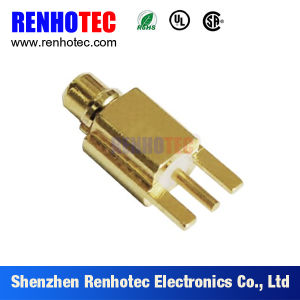 RF MCX Connector for PCB Mount pictures & photos