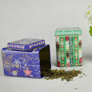 Square Wholesale Tea Tin, Promotional Tin Can, Coffee Tin Box
