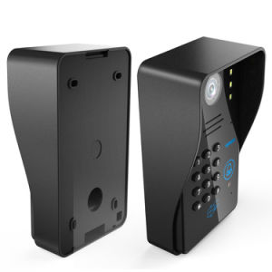 9 Inch 900tvl RFID Password Recording Video Door Phone Doorbell pictures & photos