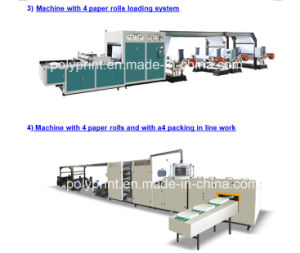 PLC Control High Precision A4 Paper Cutting Machine pictures & photos