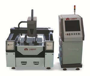 Automatic CO2 Metal Plastic Fiber Laser Cutting Machine pictures & photos