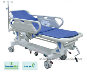 Sjm002 Luxurious Rise-and-Fall Stretcher Cart