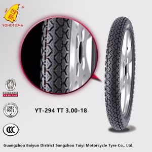 Continental Motorcycle Tires with Good Pattern Tt 3-18 Yt294