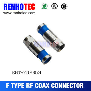 Compression Type RG6 F Connector pictures & photos
