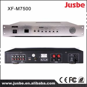 Xf-M7500 Professional Pubic Address Mixer and Power Integrated Amplifier pictures & photos