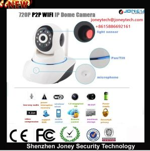 Wireless Dome Onvif 720p P2p WiFi IP Camera pictures & photos