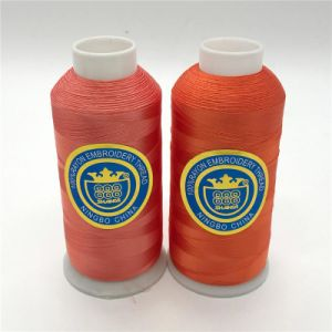 Rayon Embroidery Thread 120d/2 5000yds pictures & photos