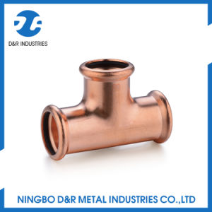 High Quality Plumbing Pipes, Copper Tee pictures & photos