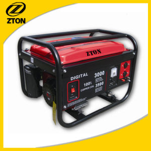 2kVA Engine 6.5HP Electric Start Portable Gasoline Generator (Set) pictures & photos